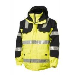Viking Safety Hi Vis Jacket Yellow and Black