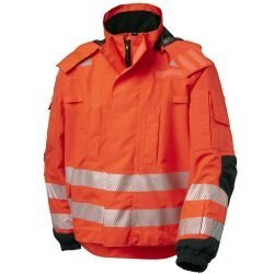 Hi Vis Safety Jacket Viking Heavy Duty