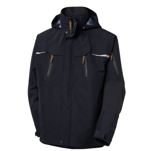 Viking Gore-Tex Navy Blue Jacket with Hood