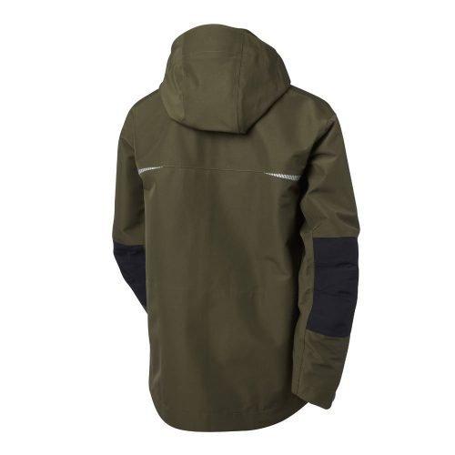 Gore-tex jacket green hood