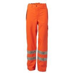 Viking Rubber Hi Vis Orange Trousers
