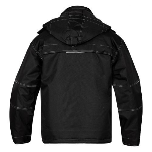 Engel Combat Pilot jacket black Back