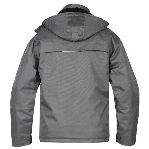Engel Combat Pilot jacket grey back