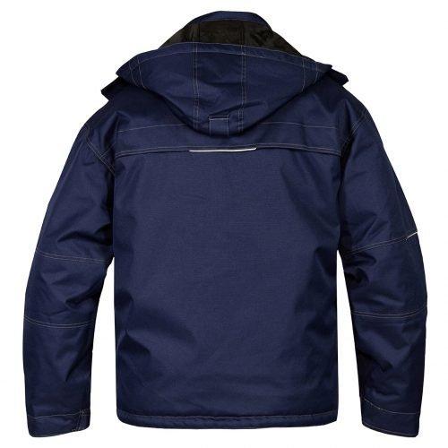 Engel Combat Pilot jacket navy Back