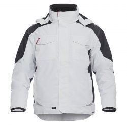 Engel Galaxy Winter Jacket White and Grey