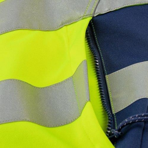 Engel Hi Vis work Jacket detail