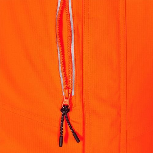 Engel Hi Vis Safety Winter Jacket Zip