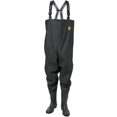 Viking Rubber Green Sport Waders with Boots