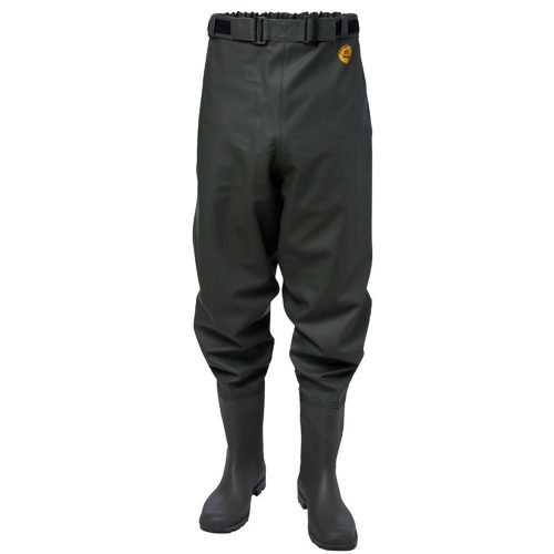 Viking Rubber Waist Waders with boots