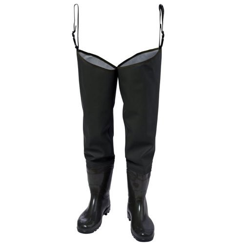 Viking rubber Green Hip Waders with Boots
