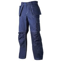 TOP SWEDE COTTON NAVY WORK TROUSERS