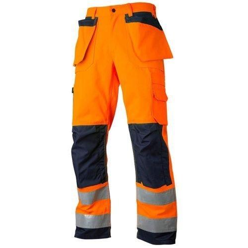 Hi Vis Orange Navy working trousers