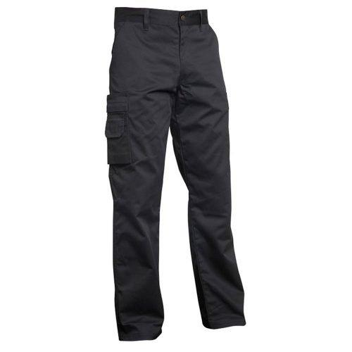 Lightweight Black Work Wear Trousers Top Swede