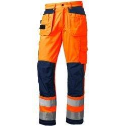 Hi vis orange working trousers