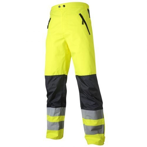 Top Swede Hi Vis yellow shell trousers