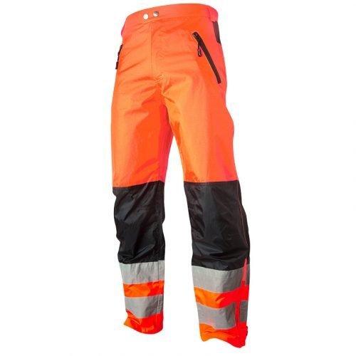 Top Swede Hi Vis orange shell trousers