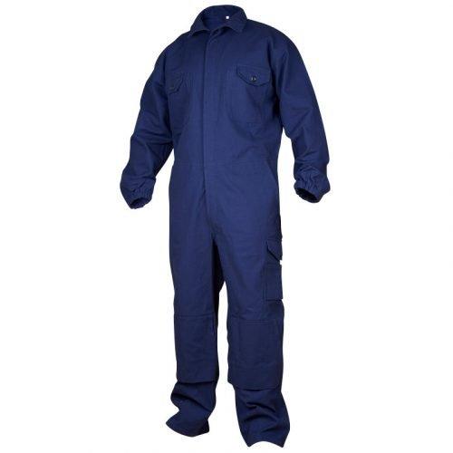 Dark blue overall heavy cotton