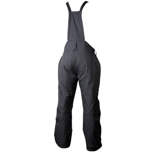Insulated winter overalls black back