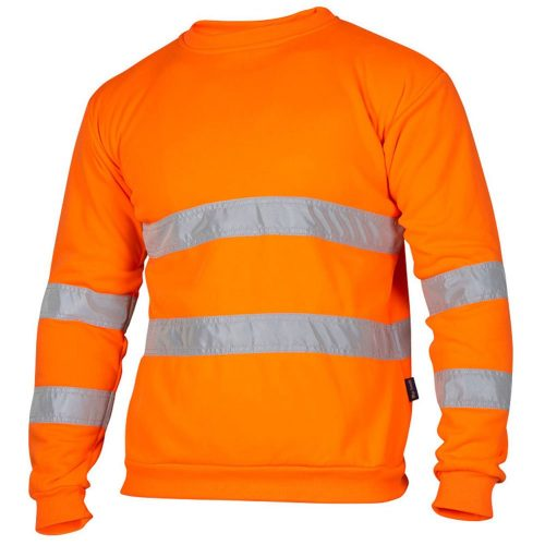 Hi vis orange sweatshirt