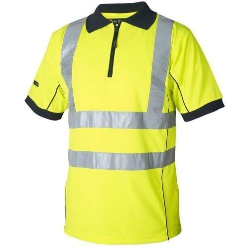 Hi Vis yellow polo
