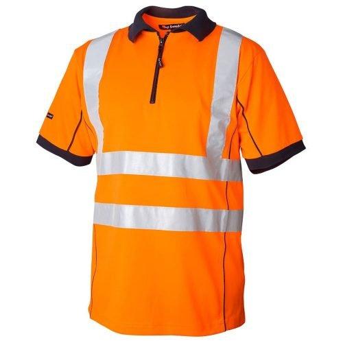 Hi Vis orange polo