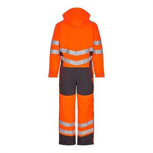 Engel Hi Vis Orange Engel Safety Winter Boiler Suit4946-930-1079b