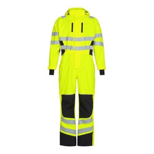 Engel Hi Vis Yellow Engel Safety Winter Boiler Suit4946-930-3820