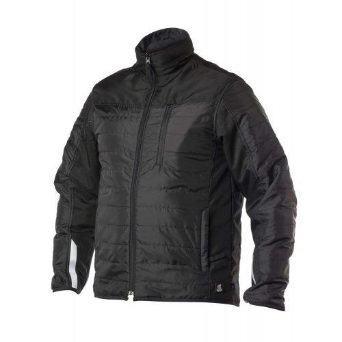 Viking Rubber Zip In Black Reversible Jacket
