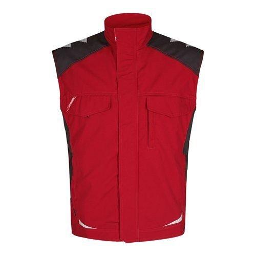 Engel Galaxy Service Vest Red Grey Front
