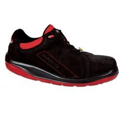 Giasco Safety Trainers Shoes Light Weight Black Red