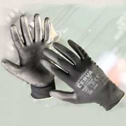 Bunting Black Nylon Gloves