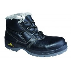 Fur lined Working safety boots