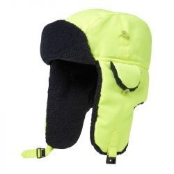 Hi Vis yellow warm hat