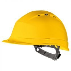 Safety Helmet Yellow Quartz Delta