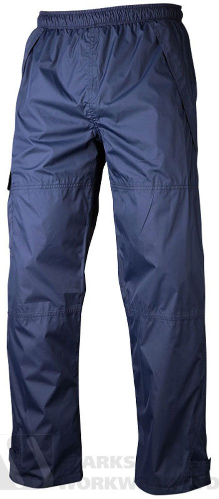 Rain suit trousers navy blue