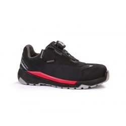 GIASCO STELVIO SAFETY TRAINERS BLACK RED