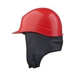Winter Cap for Safety Helmet Black