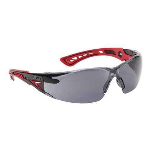 Bolle Rush Plus Safety Glasses Smoke Colour